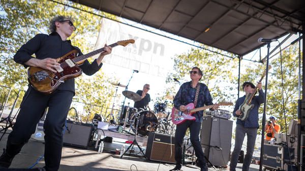 The Dream Syndicate performs live at the 2017 XPoNential Music Festival in Camden, NJ.