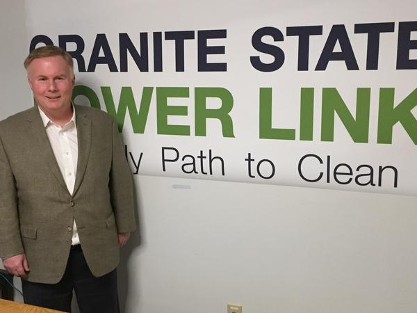 Joseph Rossignoli is director of U.S. business development for National Grid,  which is proposed a power line through a corner of the Northeast Kingdom.