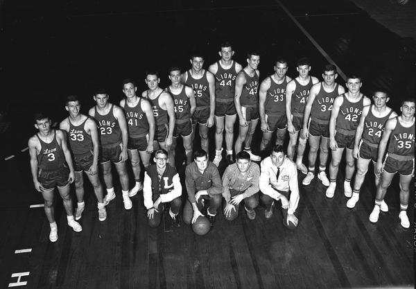 The 1959 Leon High basketball team.