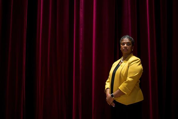 Dr. Colette Pierce Burnette, President and CEO of Huston-Tillotson University, an historically black university in East Austin.