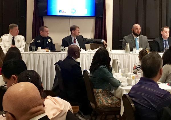 Cordray's focus to the annual law enforcement breakfast in Stark County was on guns, local control and criminal justice reform.
