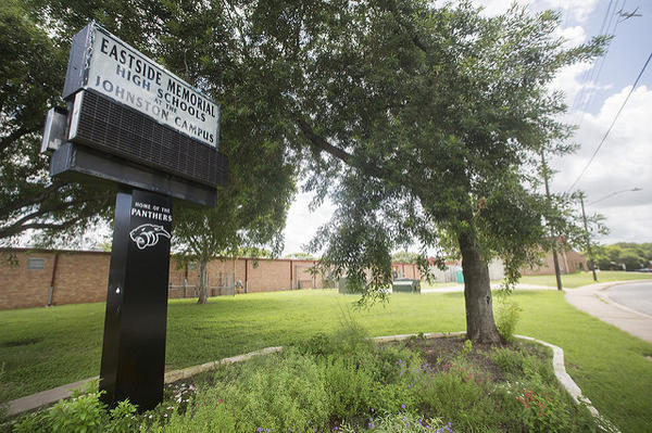 The A.S. Johnston Campus of Eastside Memorial High School in Austin, Texas (formerly Johnston High School).