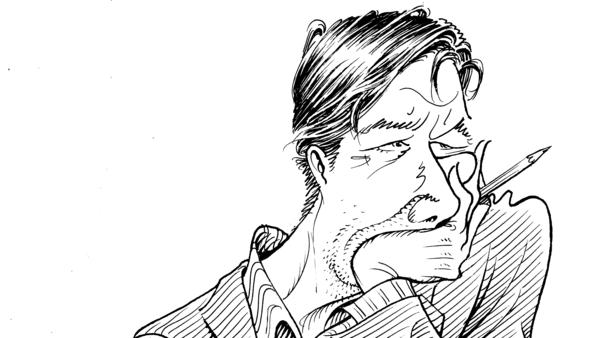 """""""The job of a cartoonist is not just to capture a likeness,"""" Tim Kreider says. """"A caricature brings out aspects of someone's character that they're trying to conceal."""""""