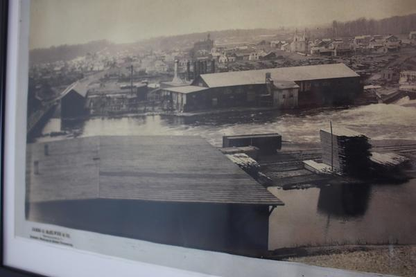 A century ago, the banks of the Muskegon River in Big Rapids, Mich., were lined with lumber mills.