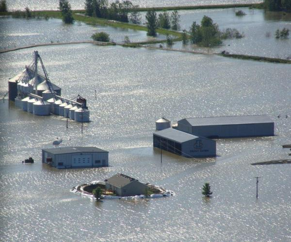 The U.S. Court of Federal Claims found the Army Corps of Engineers liable for damages caused by recurring Missouri River floods, but not for damages caused by the 2011 flood. This was lead plaintiff Roger Ideker's farm in St. Joseph during the 2011 flood.