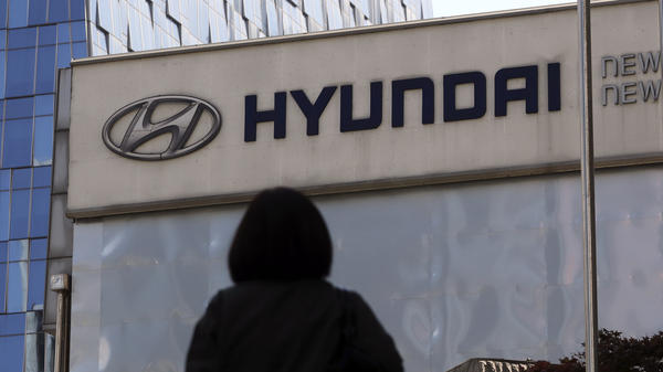 The Hyundai Motor Co. headquarters, along with the showroom pictured here, are in Seoul, South Korea. The U.S. government is investigating problems with air bag control units in Kia and Hyundai vehicles that have led to four deaths.