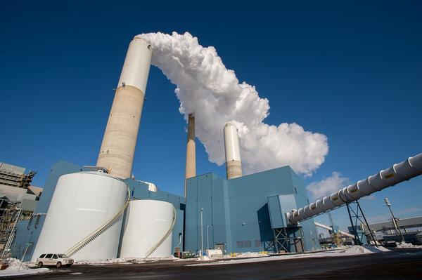 DTE's River Rouge plant; one of three it's planning to shut down.