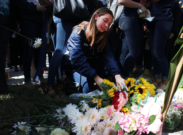 Investigations into the bridge collapse at Florida International University continue as students grieve the loss of a peer, 18-year-old Alexa Duran, who was killed underneath.