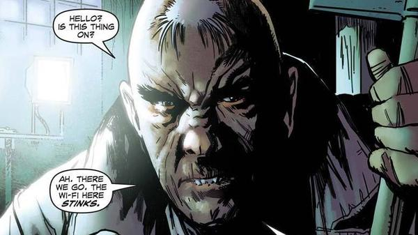 """A panel from part one of<em> Insufferable</em>, the first title offered by the comics website <a href=""""http://Thrillbent.com"""">Thrillbent.com</a>. The site's creator, comic-book writer Mark Waid, hopes it will redefine comics in the era of smartphones and tablets."""