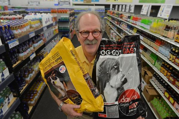Dave Ratner of the Springfield-based Dave's Soda and Pet City in a file photo.