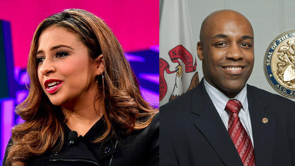 Erika Harold won the Republican primary for attorney general. State Sen. Kwame Raoul won the Democratic primary for attorney general.