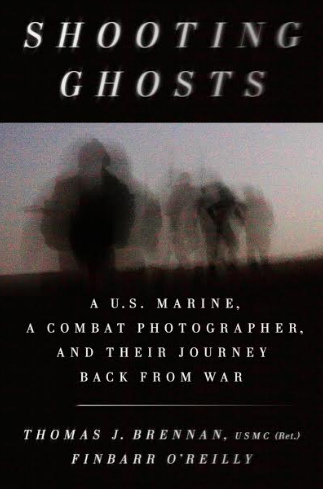 Cover of the book 'Shooting Ghosts' coauthored by Thomas J. Brennan and Finbarr O'Reilly.