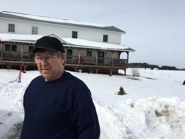 Jacques Rainville farmed in Highgate Center but low milk prices forced him out of business.