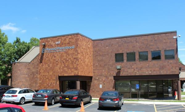 The Overland Park headquarters of Planned Parenthood Great Plains, one of two Planned Parenthood affiliates that challenged Kansas' decision to cut of their Medicaid funding.