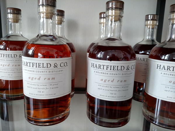 Some bourbon distillers are diversifying into other spirits like rum.