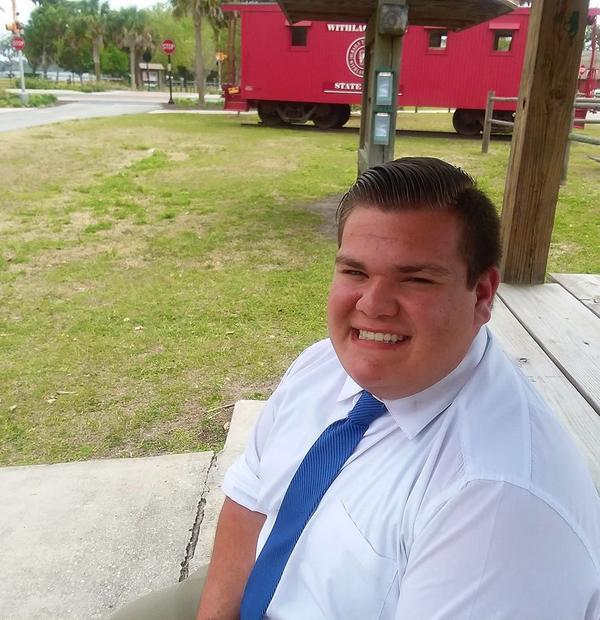 18-year-old Nick Lahera is a Lecanto High School student. He is a candidate for the district 5 seat on the Citrus County school board.