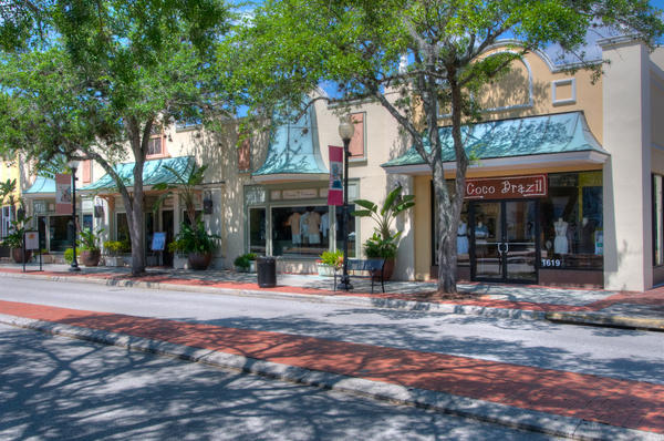 Hyde Park Village in Tampa