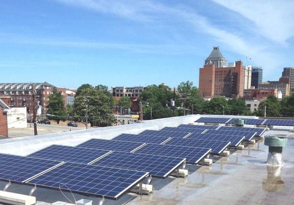 NC WARN owns the solar panels it installed on Faith Community Church in Greensboro, and had been selling electricity to the church. But it has stopped the sales, after an order by regulators.