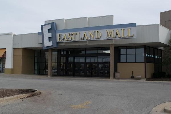Eastland Mall in Bloomington.