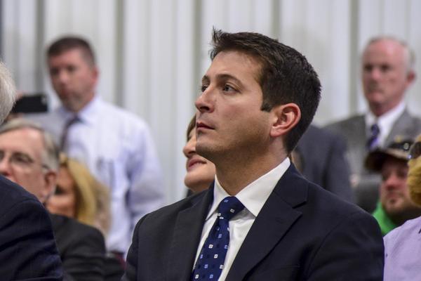 State Sen. Jason Barickman, a Republican from Bloomington.