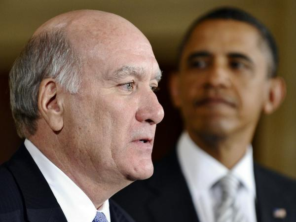 William Daley, shown with President Obama when he was named White House chief of staff in January.