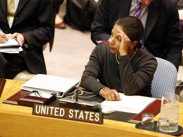 Susan Rice, U.S. ambassador to the United Nations, says the positions taken by the emerging powers haven't been encouraging.