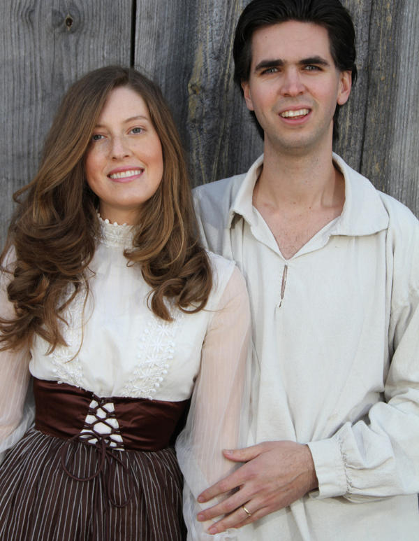 <p>Emilee and Jere Gettle run a farm, vegan restaurant and seed store in Mansfield, Mo.</p>