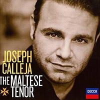 <p>Cover art for Joseph Calleja's new recital album for Decca.</p>