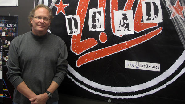 "John Timmons, owner of ear X-tacy in Louisville, Ky., has closed his record shop after 26 years of business because of the bad economy. ""I'm so associated with this store. I'm the ear X-tacy guy,"" he says. ""Ear X-tacy goes away, and who am I going to be?"""