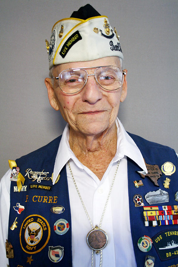 Pearl Harbor survivor Frank Curre gave his eyewitness account of the attack in an interview with StoryCorps in Waco, Texas.