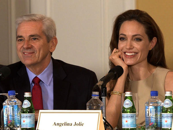 NPR's Tom Gjelten joins a panel with Angelina Jolie to discuss her directorial debut movie, <em>In the Land of Blood and Honey</em>.