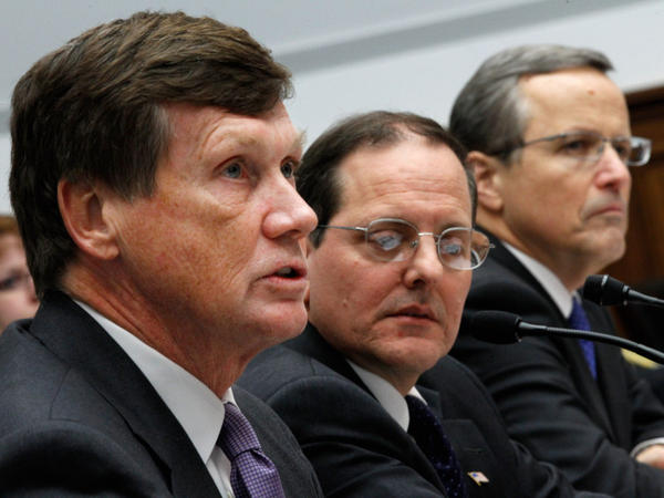 In December, Freddie Mac CEO Charles Haldeman, FHFA acting Director Edward DeMarco and Fannie Mae CEO Michael Williams testified on Capitol Hill about the Federal Housing Finance Agency's performance.