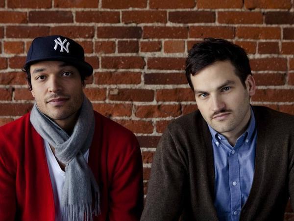 <em>Undefeated</em> co-directors T.J. Martin (left) and Dan Linsday.