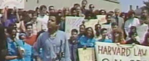 A still frame from a video shot in 1990.