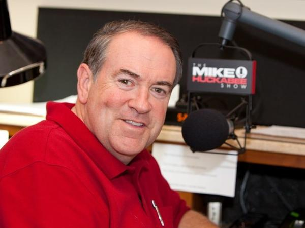 """Former Arkansas Gov. Mike Huckabee says his new radio show will be more """"conversation and less confrontation."""""""