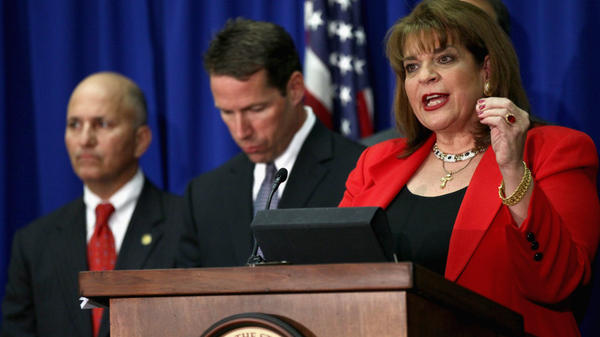 State Attorney Angela Corey announces that George Zimmerman has been arrested and charged with second-degree murder in the shooting death of Trayvon Martin in Florida.