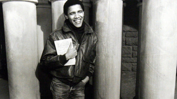 While a student at Harvard Law School, Barack Obama became the first black president of the <em>Harvard Law Review</em>.