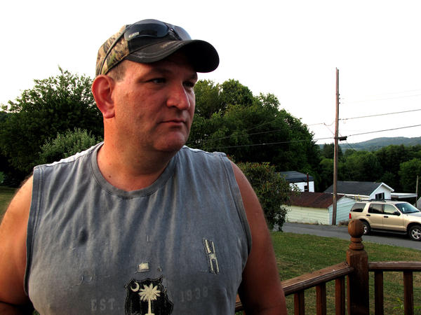 Rich Lewis worked as a miner for almost two decades before being laid off by Arch Coal. He says he's considering taking a job at another mine, but it's not certain that mine will stay open.