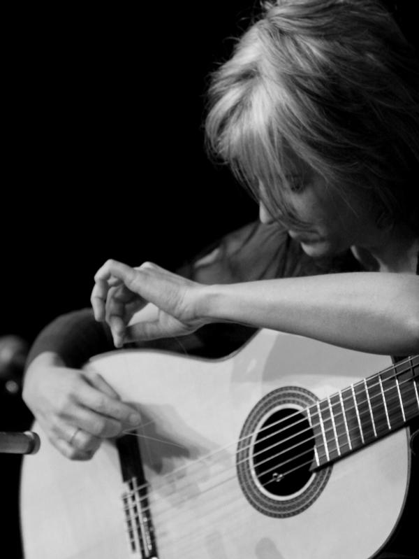 Janet Feder built a career on unusual instrumental guitar playing. Her new album, <em>Songs With Words</em>, will feature her singing for the first time.