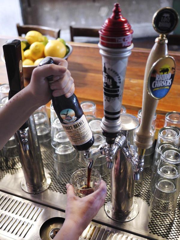 D.C. bar, The Passenger serves Fernet Branca on tap.