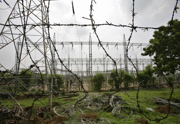 An electric power station on the outskirts of Jammu. Experts say demand for power outstrips supply in India.