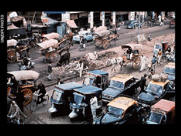 Street scene, Asia (Pakistan)