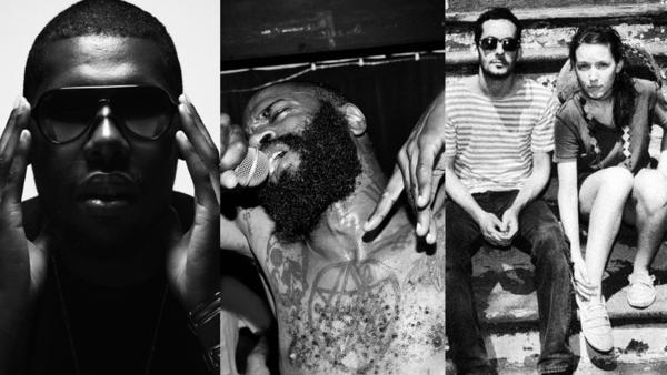Flying Lotus, Death Grips and Buke & Gase.