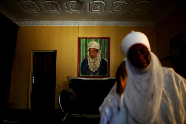 The emir of Kano state is the highest-ranking Muslim leader in northern Nigeria. Wada Mohamed Aliyu, seen here, is the emir's point man on polio. Local imams boycotted polio vaccination in 2003 and 2004, but now solidly support immunization.