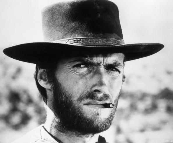 Clint Eastwood in a scene from Sergio Leone's film <em>The Good, The Bad, and The Ugly</em>.