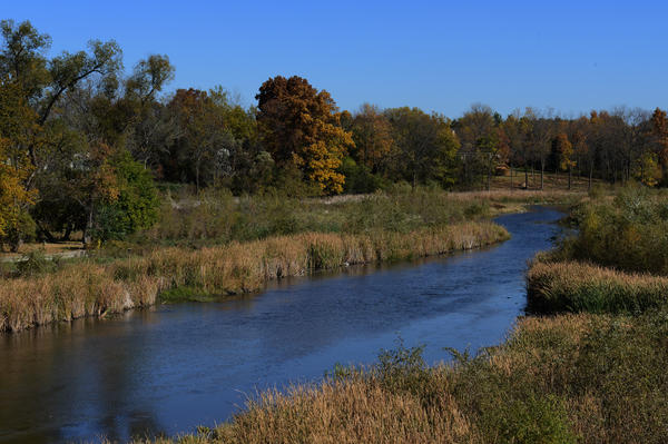 The Bark River was carved in Wisconsin's Ice Age, about 13,000 years ago, when glaciers covered much of the state.