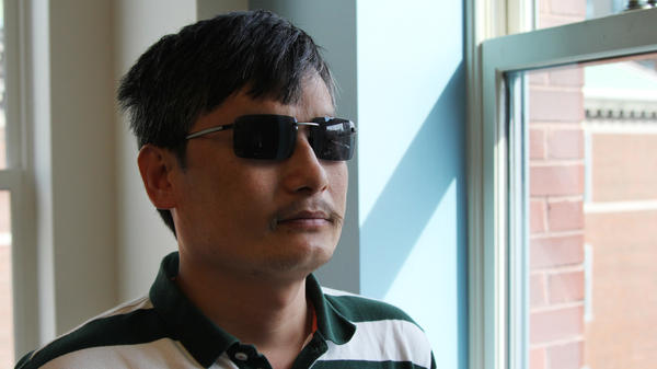 Chen Guangcheng, a blind Chinese lawyer, made international headlines when he escaped house arrest in April. Now at New York University, he believes changes to China's legal system are inevitable.