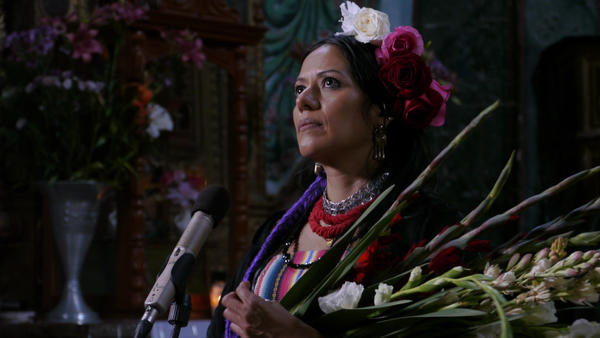 Ranchera singer Lila Downs appears on the <em>Hecho En Mexico</em> soundtrack.