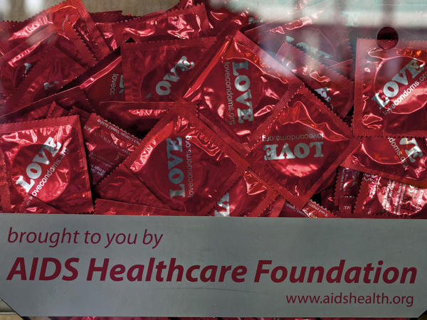 The Los Angeles-based AIDS Healthcare Foundation says a county law requiring condom use at porn shoots is necessary to protect actors from sexually transmitted diseases.