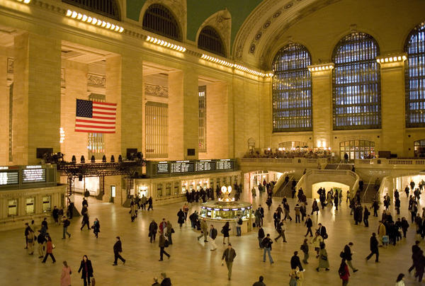 """""""All you have to do is walk in or stand on the balcony and watch people move, and you'll recognize the genius of the people who built Grand Central,"""" says Metro-North President Howard Permut."""